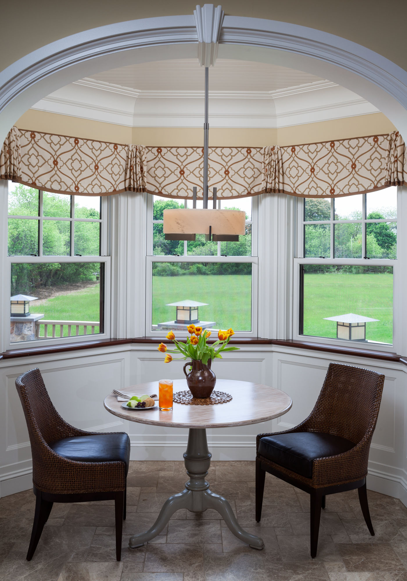 Breakfast Nook Curtains New Photos From Our Latest Project Cebula Design