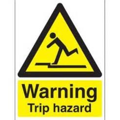 Fall trip hazard