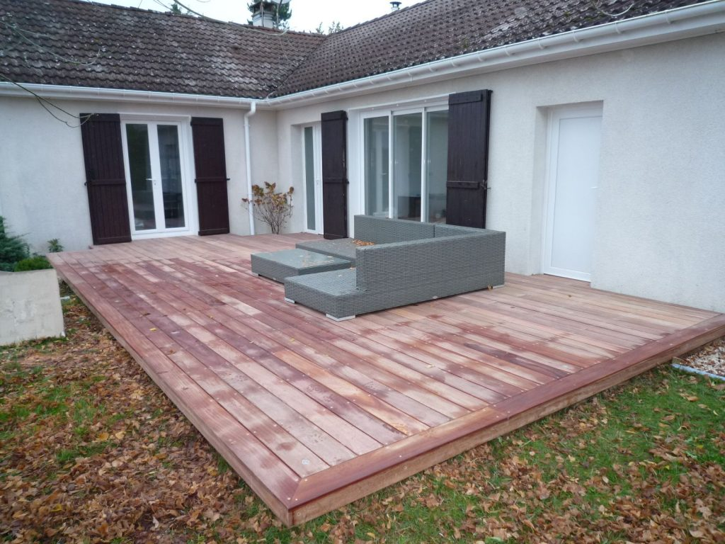 Terrasse Red Cedar Cedar Construction