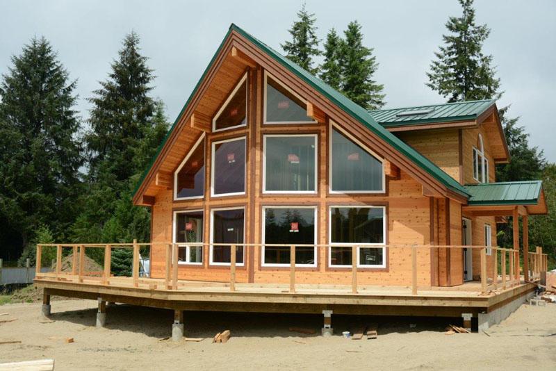 sunburst chalet cedar home astoria oregon cedar homes chalet style house plans pictures