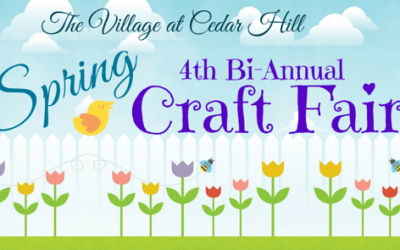 Come to our Spring Craft Fair!