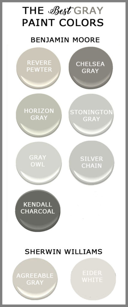 Agreeable Gray Vs Revere Pewter The Best Gray Paints For Your Home - Cedar Hill Farmhouse