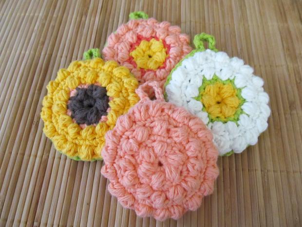Free Crochet Pattern: Tawashi Scrubber