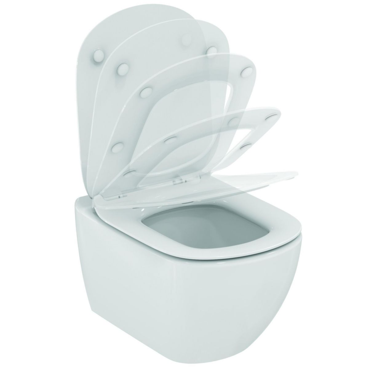 Promo Wc Ideal Standard Pack Wc Suspendu Tesi Aquablade Fixations