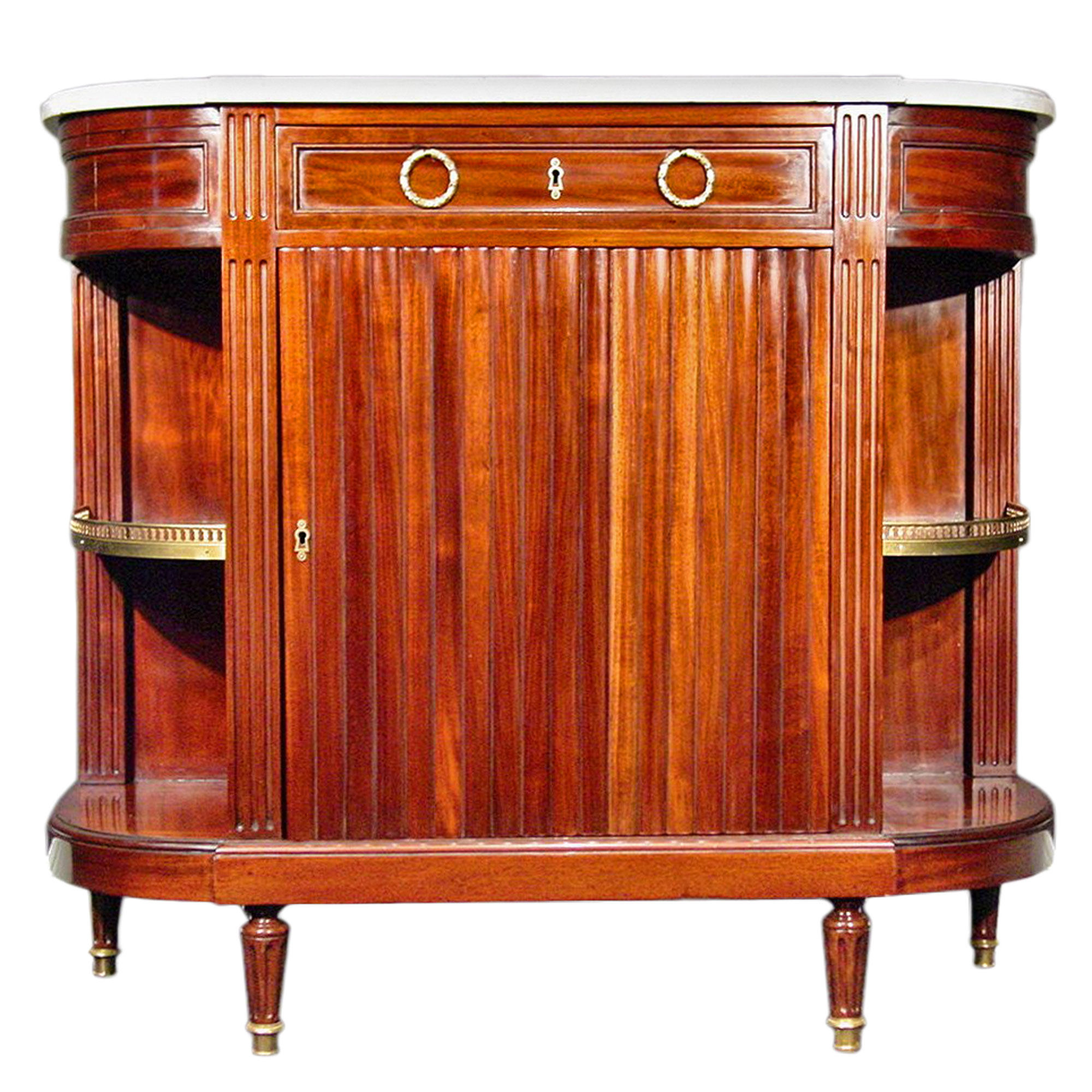 Meuble Louis 16 A French 18th Century Louis Xvi Period Mahogany Buffet