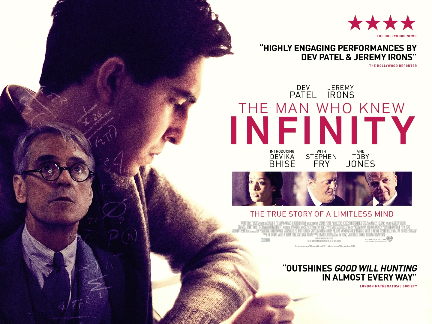 The Man Who Knew Infinity (2016)