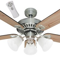 Mercator Hayman Ceiling Fan With Light And Remote In ...