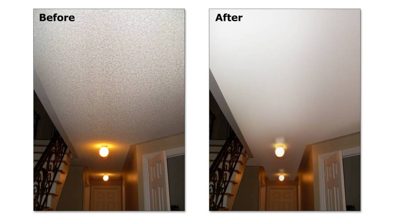 Large Of Cost To Remove Popcorn Ceiling