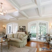 Coffered Ceiling Pictures - Home Design