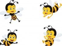 dibujo abeja