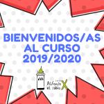 BIENVENIDOS AL CURSO 2019_2020