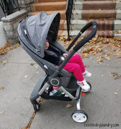 Baby Chair Upright Stokke Scoot The Urban Compact Stroller Holidaygiftguide