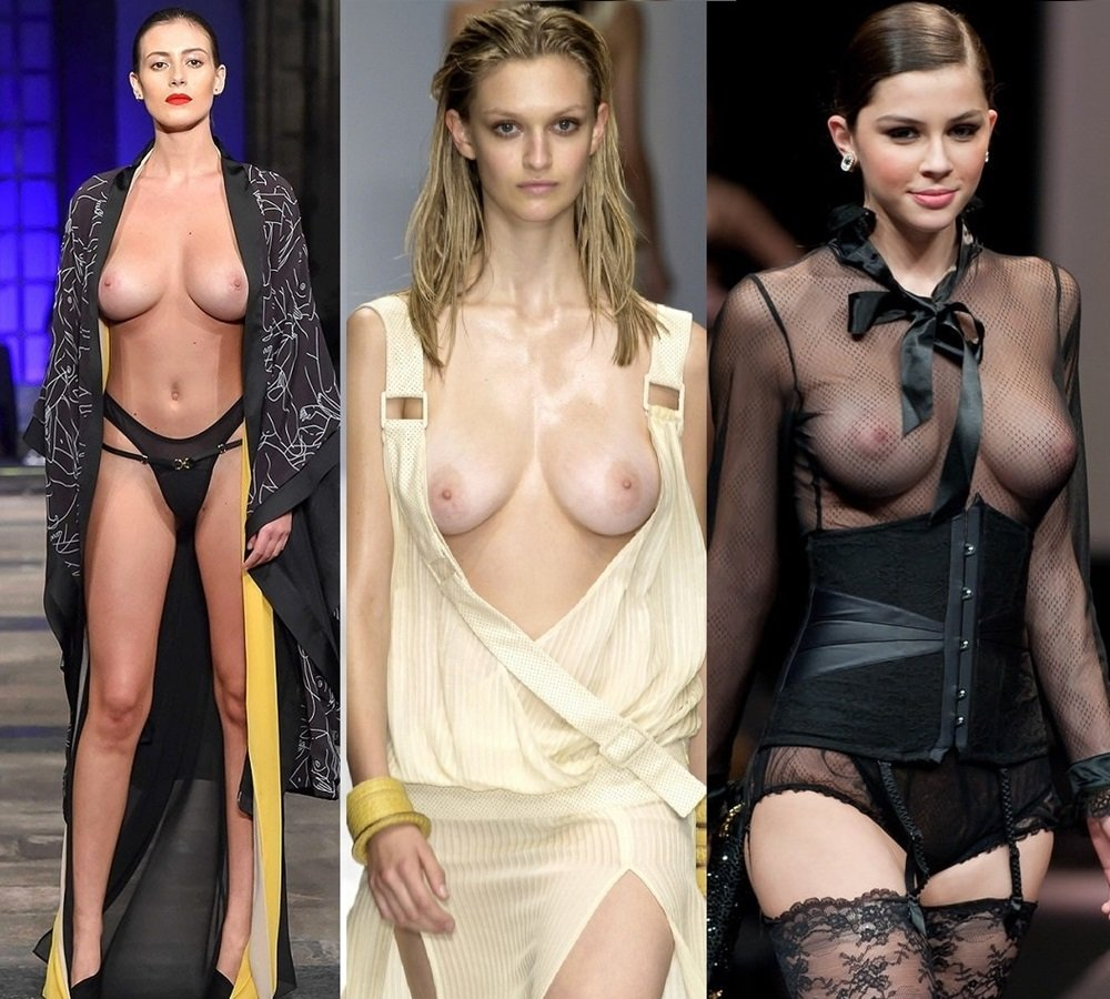 Alejandra Guilmant Topless Models Topless Nude And Tit Slips Runway Compilation