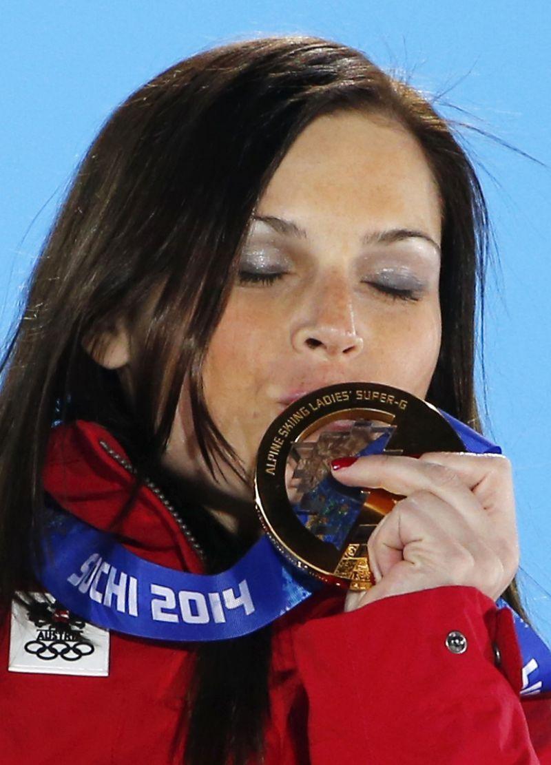 Mafia Girls Wallpaper Anna Fenninger 2014 Sochi Winter Olympics Alpine