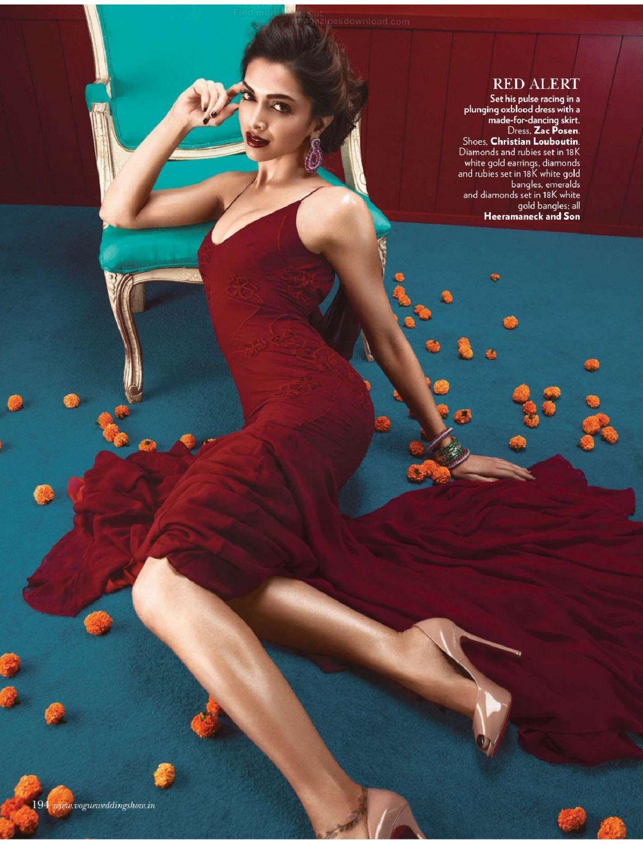 Angel Falls Wallpaper Deepika Padukone Vogue Magazine India June 2014 Issue