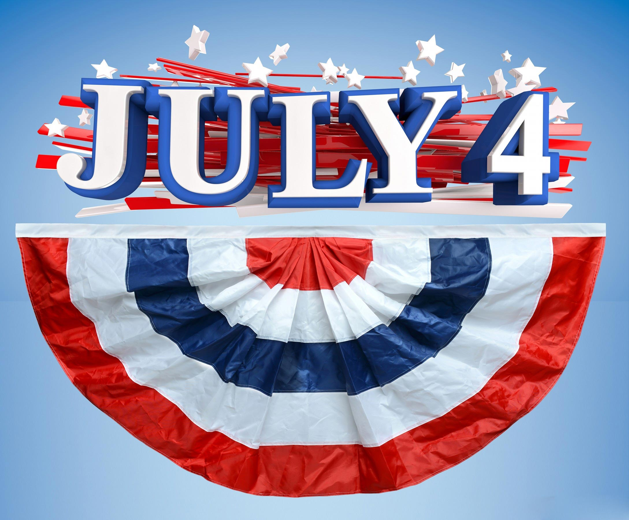 Wwe Wallpaper In 3d Happy Fourth Of July Independence Day In Usa