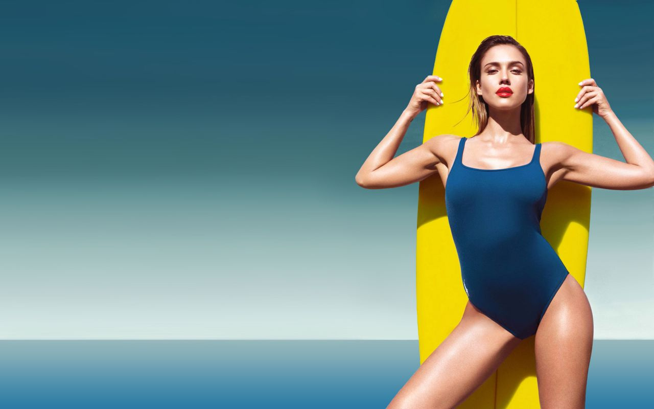 Surfing Girl Iphone Wallpaper Jessica Alba Hot Wallpapers 22 July 2014