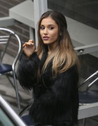 Ariana Grande - Outside the London Studios, October 2014