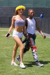 Bella Thorne Coachella Music Festival In Indio Day