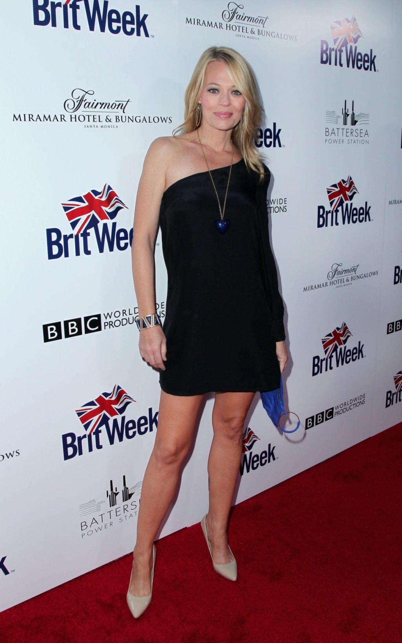 Jeri Ryan 2015 Britweek Red Carpet Launch In Los Angeles