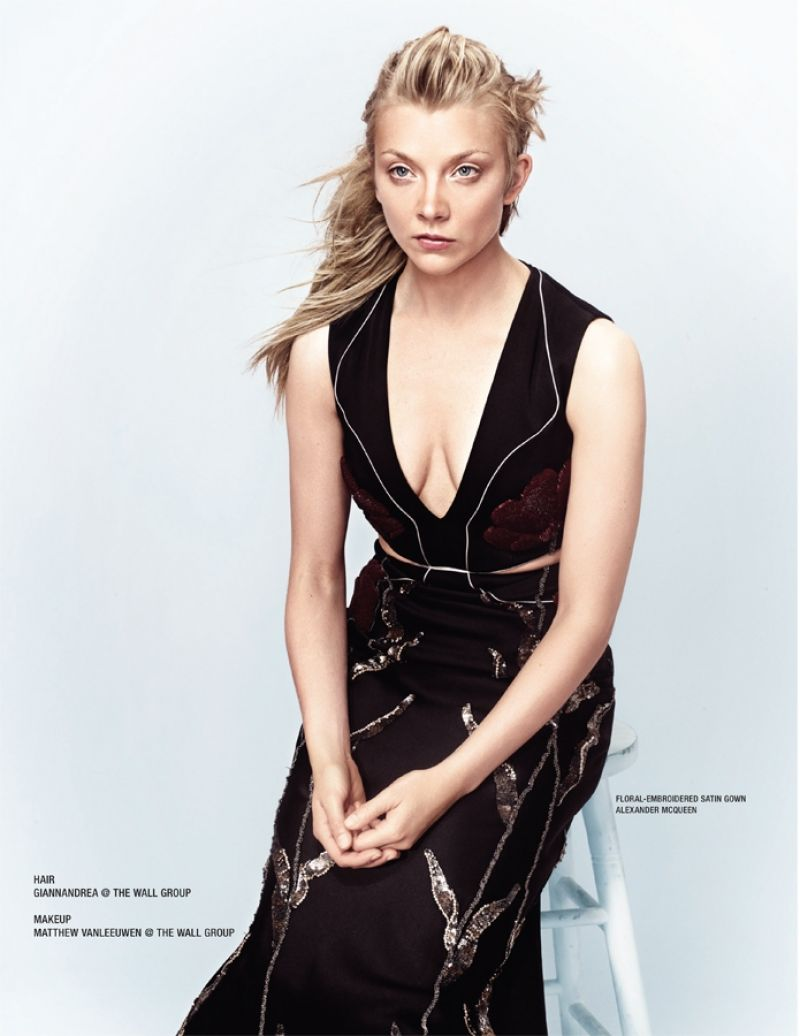 Fashion For Home Bett Natalie Dormer - Photoshoot For Vvv Magazine 2015