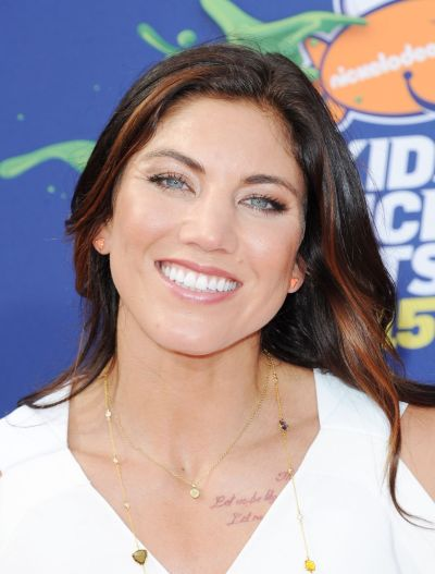Hope Solo – 2015 Nickelodeon Kids' Choice Sports Awards in Los Angeles