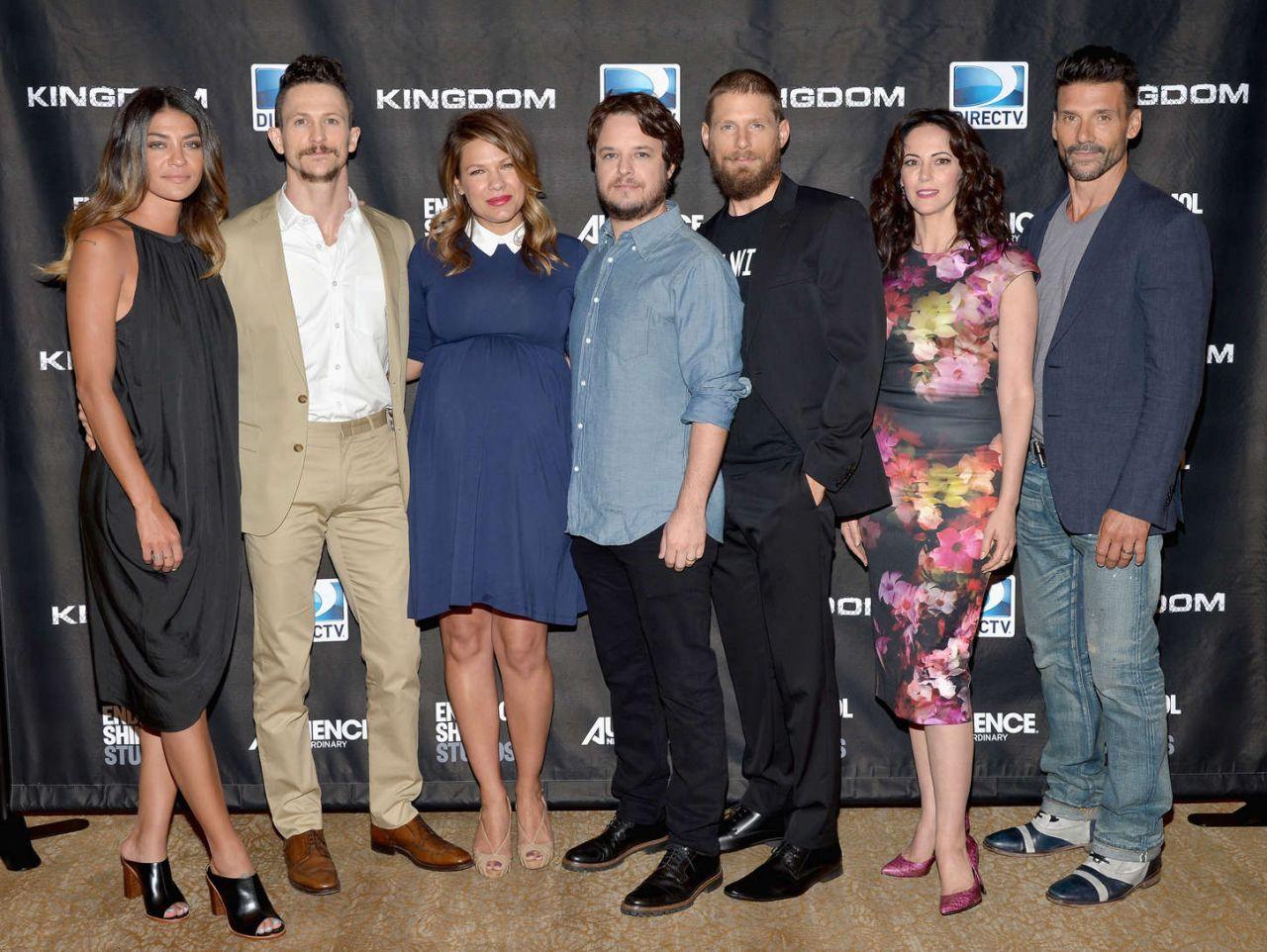 Jessica Szohr Directv Presents Season 2 Of Kingdom At