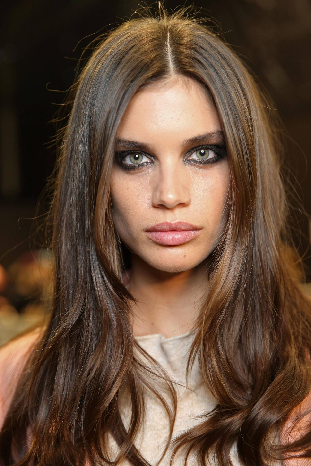 Sara sampaio elie saab show at paris fashion week march