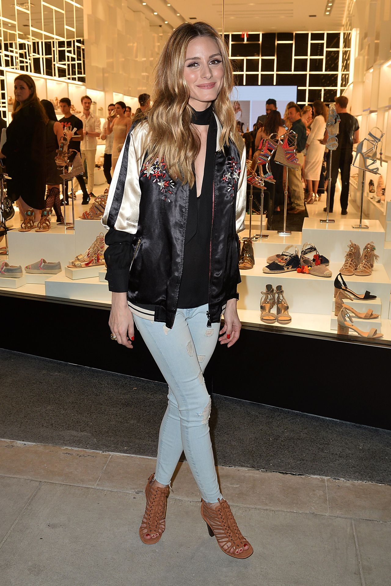 Party Chic Olivia Palermo Casual Chic Outfit 314beverly Shutz Shoes Party