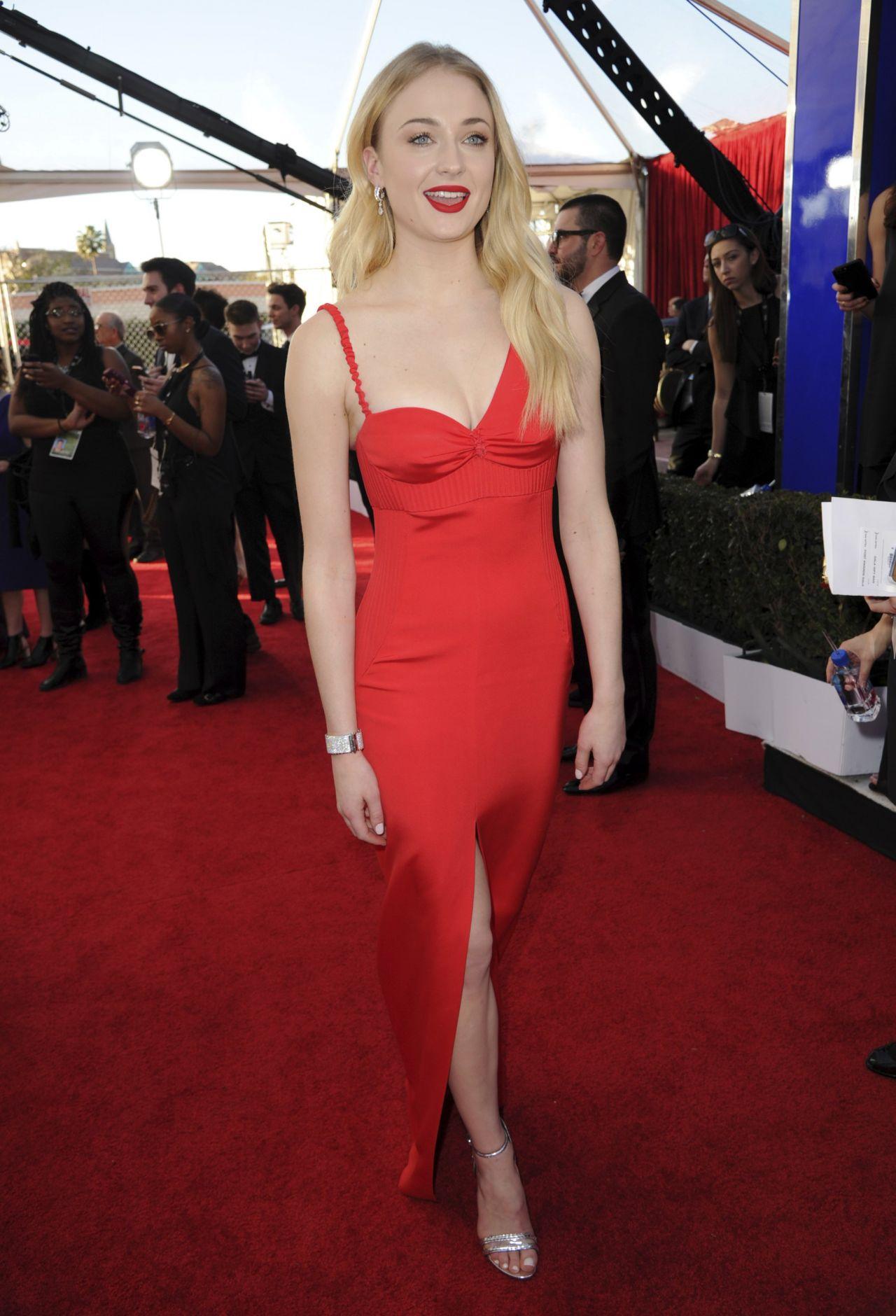Sophie Turner Sag Awards In Los Angeles 1 29 2017