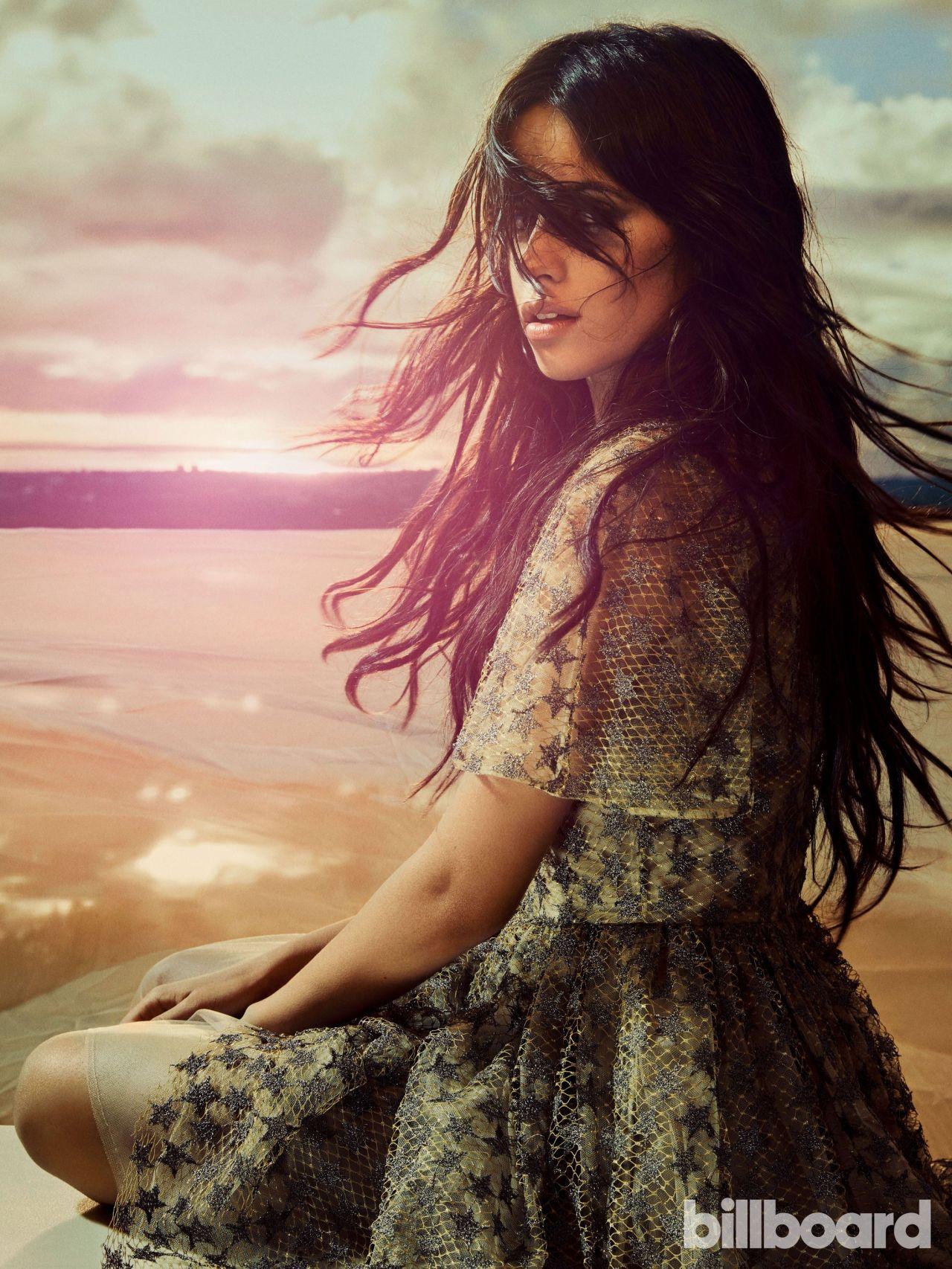 Guitar And Girl Wallpaper Camila Cabello Billboard Magazine February 2017