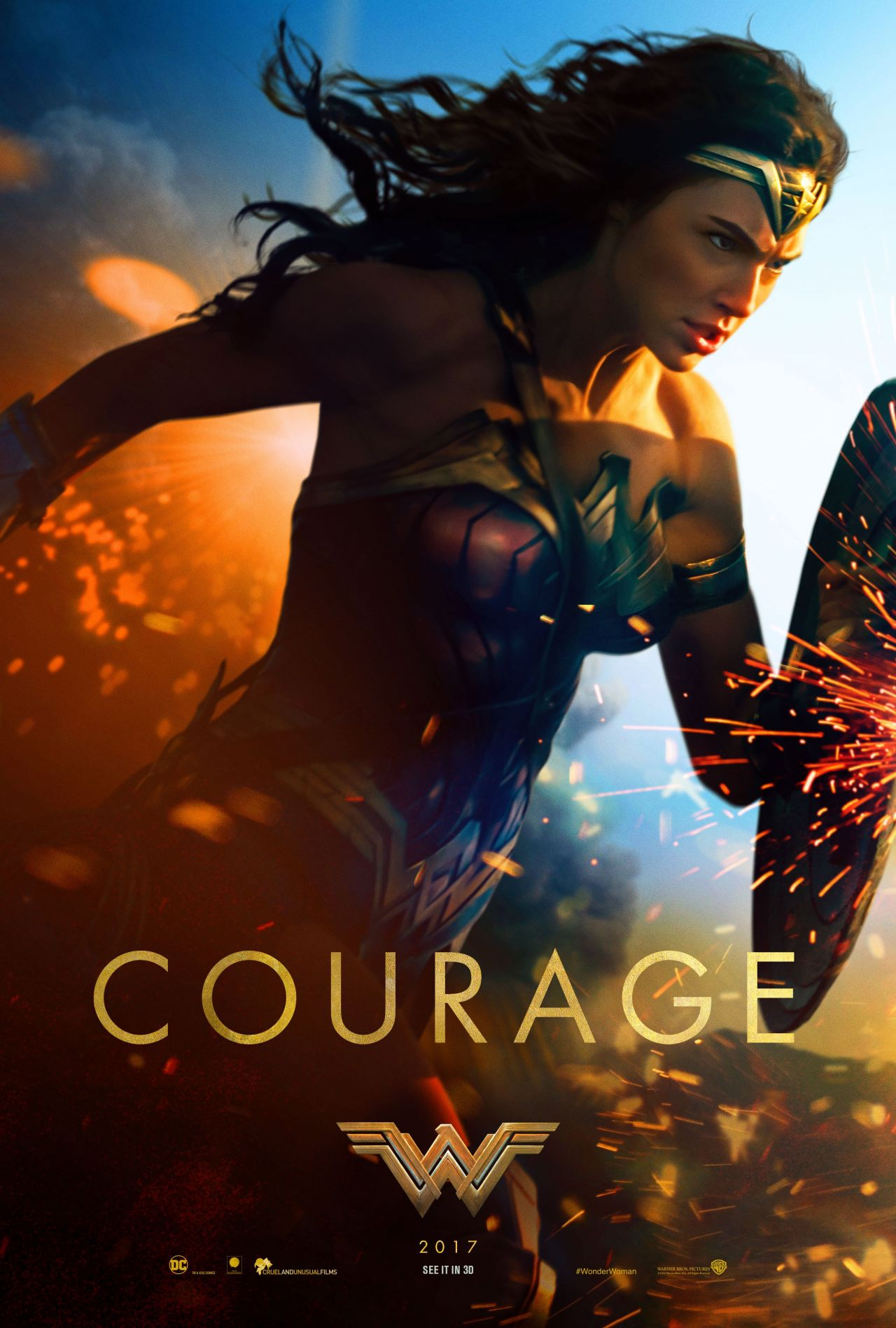 Poster Photos Gal Gadot Wonder Woman 2017 Posters And Photos