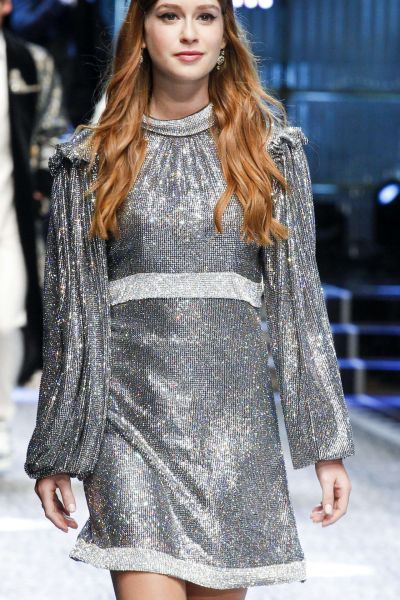 Marina Ruy Barbosa – Dolce Gabbana Show Runway on Milan fashion Week, February 2017