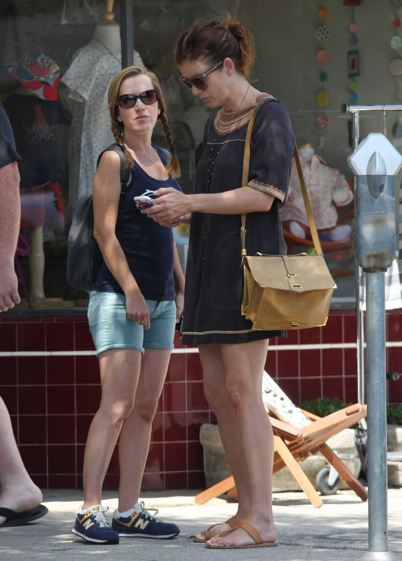 Umbrella Academy Kate Walsh And Angela Kinsey - Out In Studio City 07/19/2017