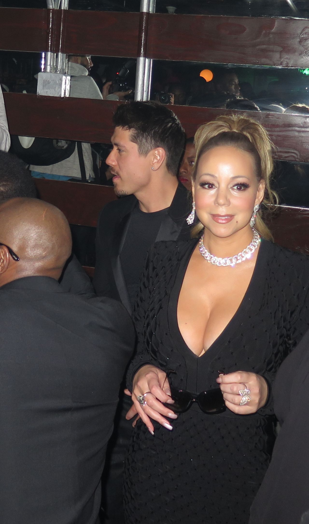 Hotel Residency Mariah Carey And Bryan Tanaka Leave The Reserve Night Club