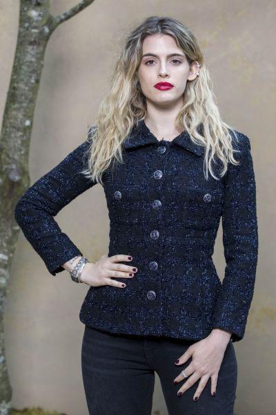 Chiara Parravicini – Chanel Fashion Show FW18 in Paris