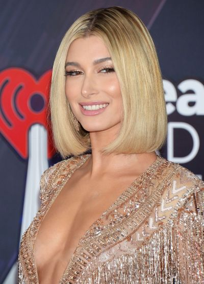 Hailey Baldwin – 2018 iHeartRadio Music Awards in Inglewood