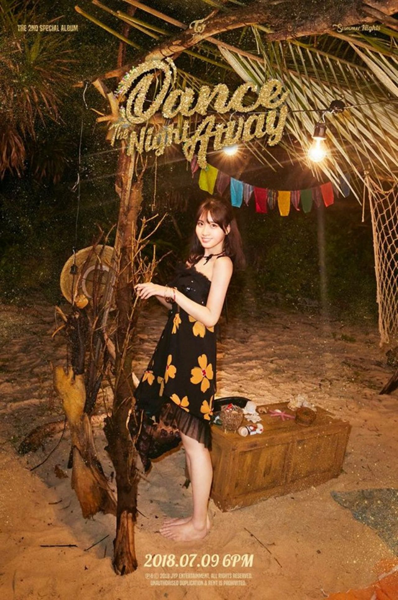 Red Dress Girl Wallpaper Twice Quot Summer Nights Quot 2nd Special Album Teaser Photos 2018