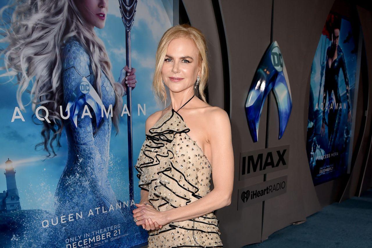 Nicole Kidman Aquaman Premiere In La