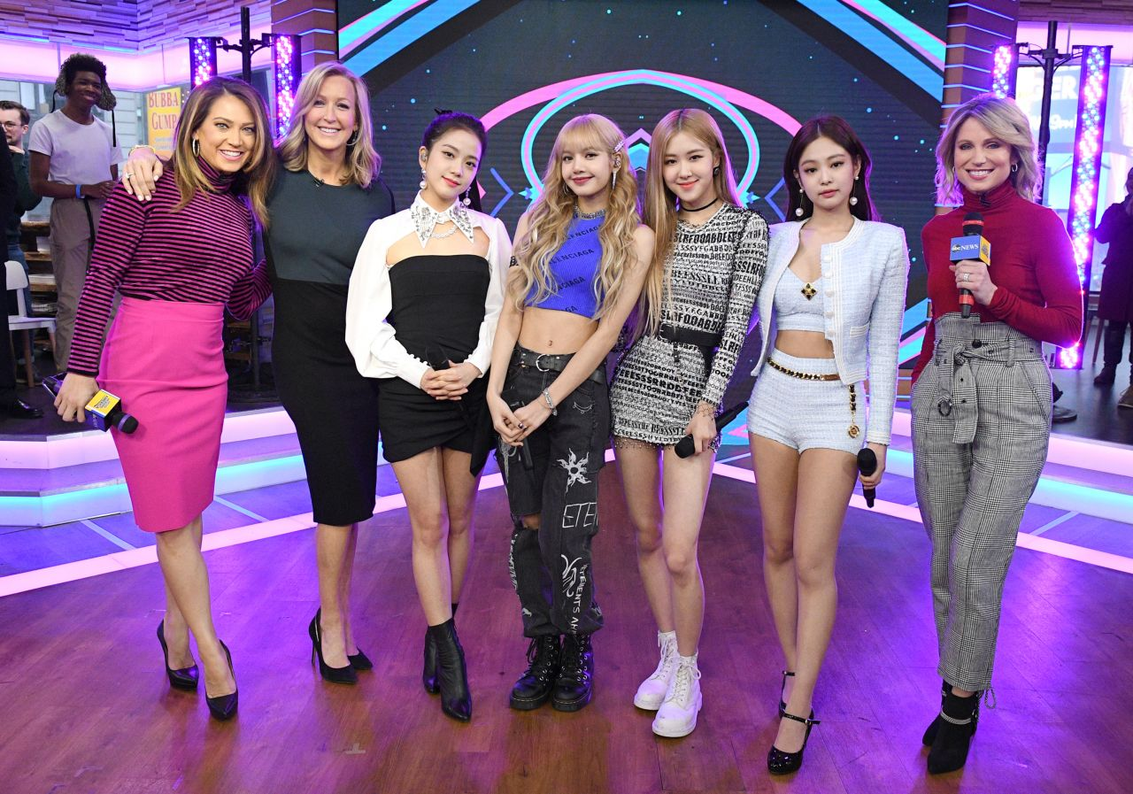 Blackpink Appeared On Good Morning America 02 12 2019