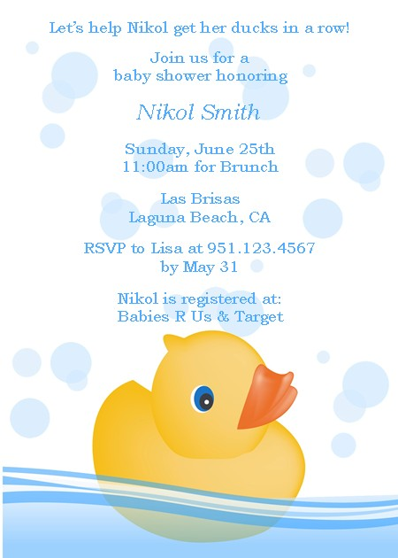 Chloe\u0027s Inspiration ~ Rubber Ducky Baby Shower - Celebrate  Decorate