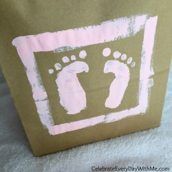 Small Of Baby Foot Print
