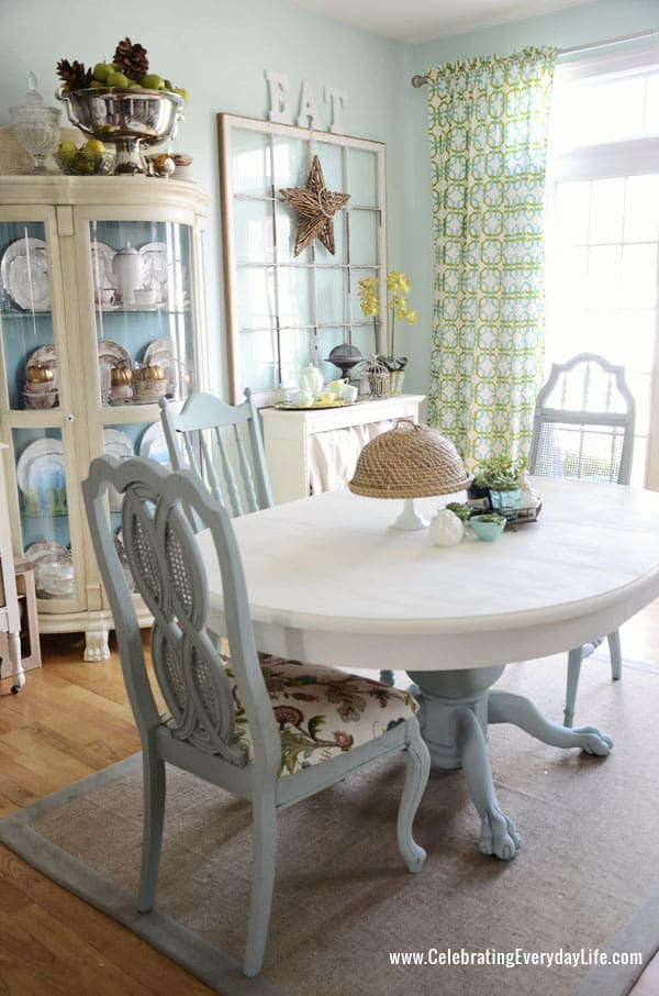 save tired dining room chairs painted table