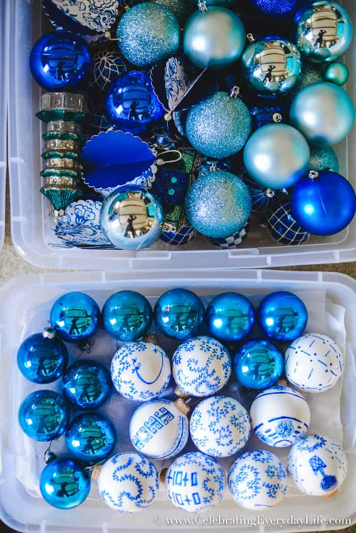 How To Make Storing Christmas Decorations Easy With Free
