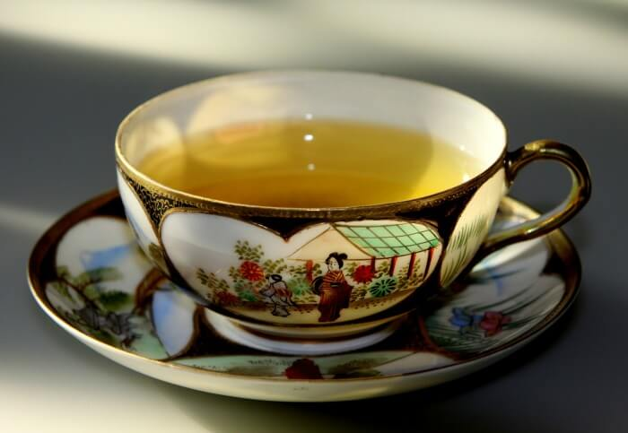 Some of the powerful benefits of green tea.