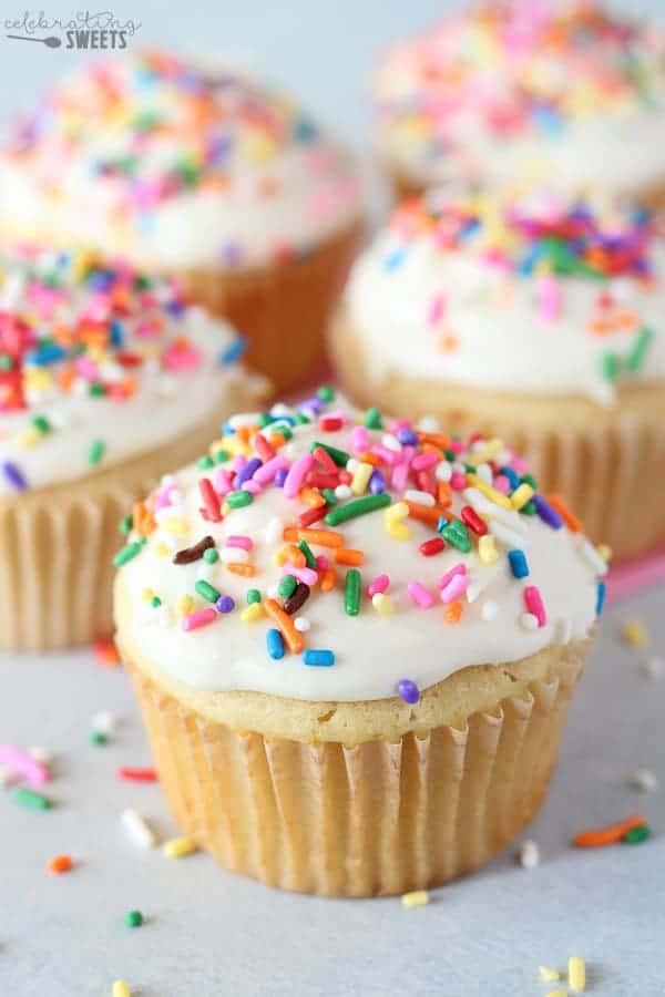 Small Batch Cupcake Recipe - Celebrating Sweets