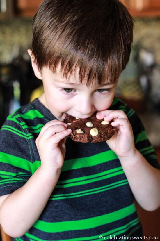Triple Chocolate Cookies_