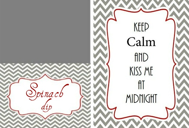 FREE New Years Eve Printables With Modern Chevron! - Celebrations at