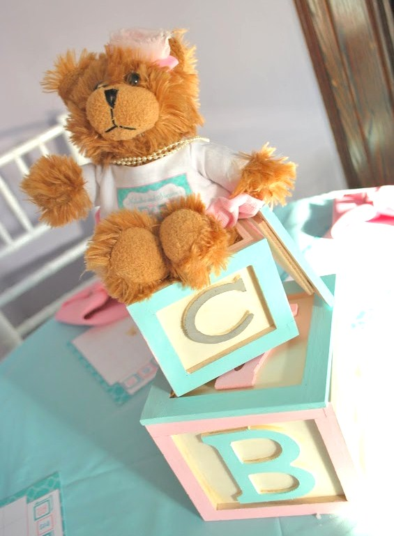 Pink And Blue Baby Shower {Guest Feature} - Celebrations at Home