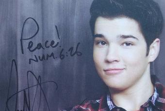 Nathan Kress Autograph